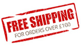 Free Shipping over £100