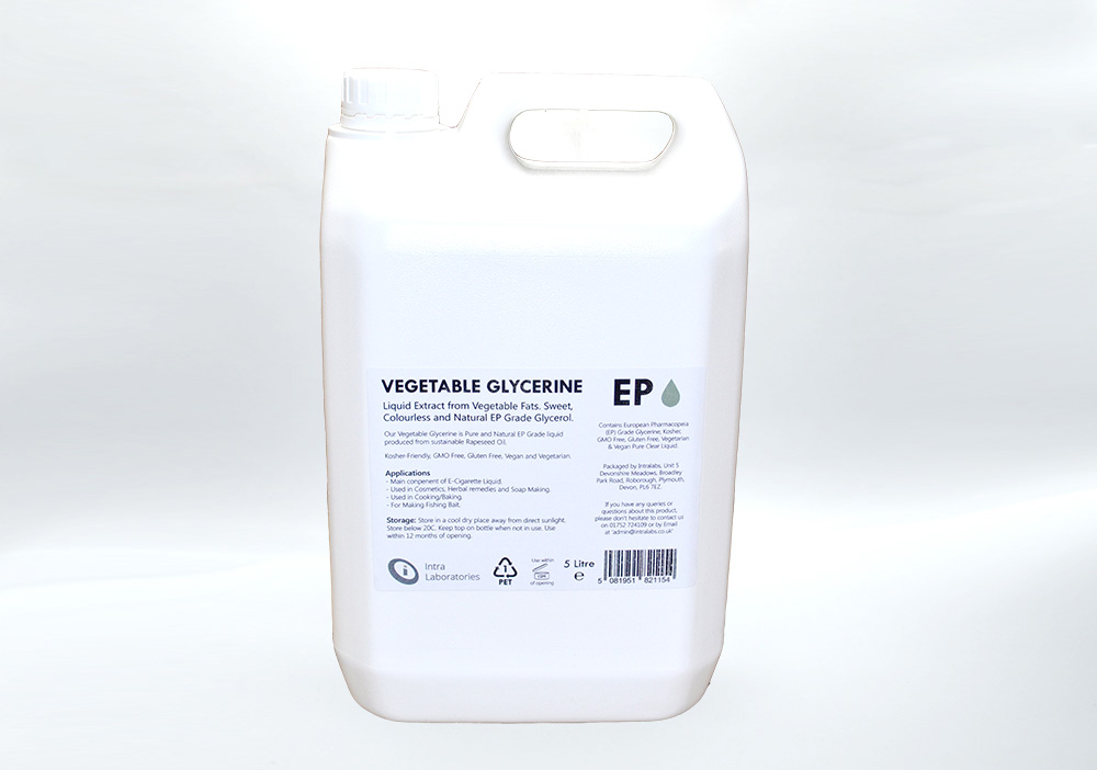 5 Litre - Vegetable Glycerine