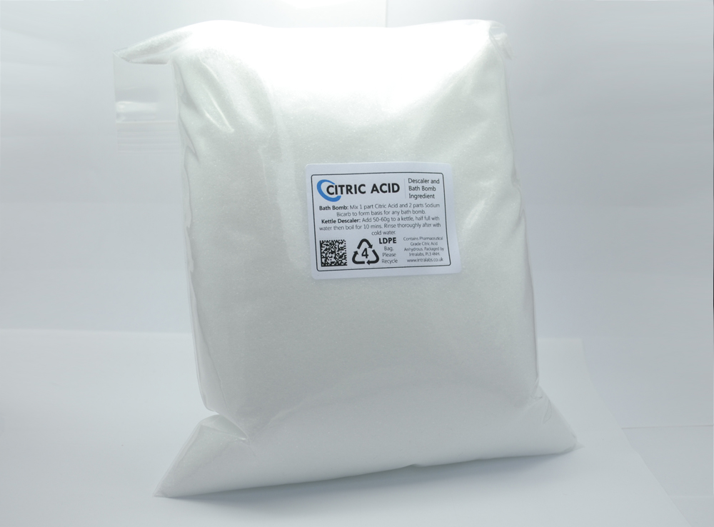 4kg - Citric Acid Powder