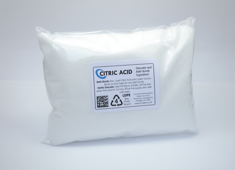 500g - Citric Acid Powder