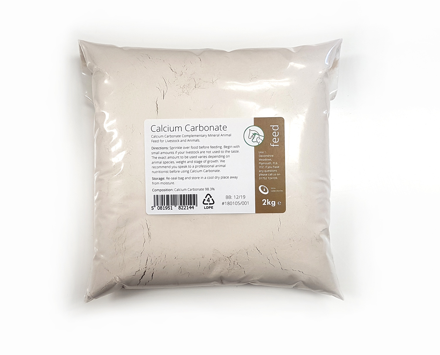 2kg - Calcium Carbonate