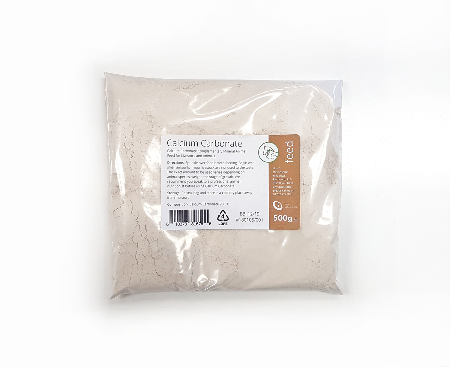 500g - Calcium Carbonate